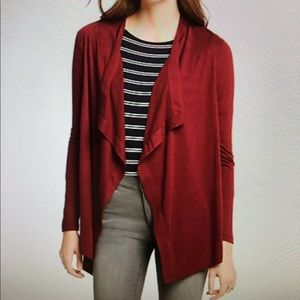 Ann Taylor Open Cardigan Sweater